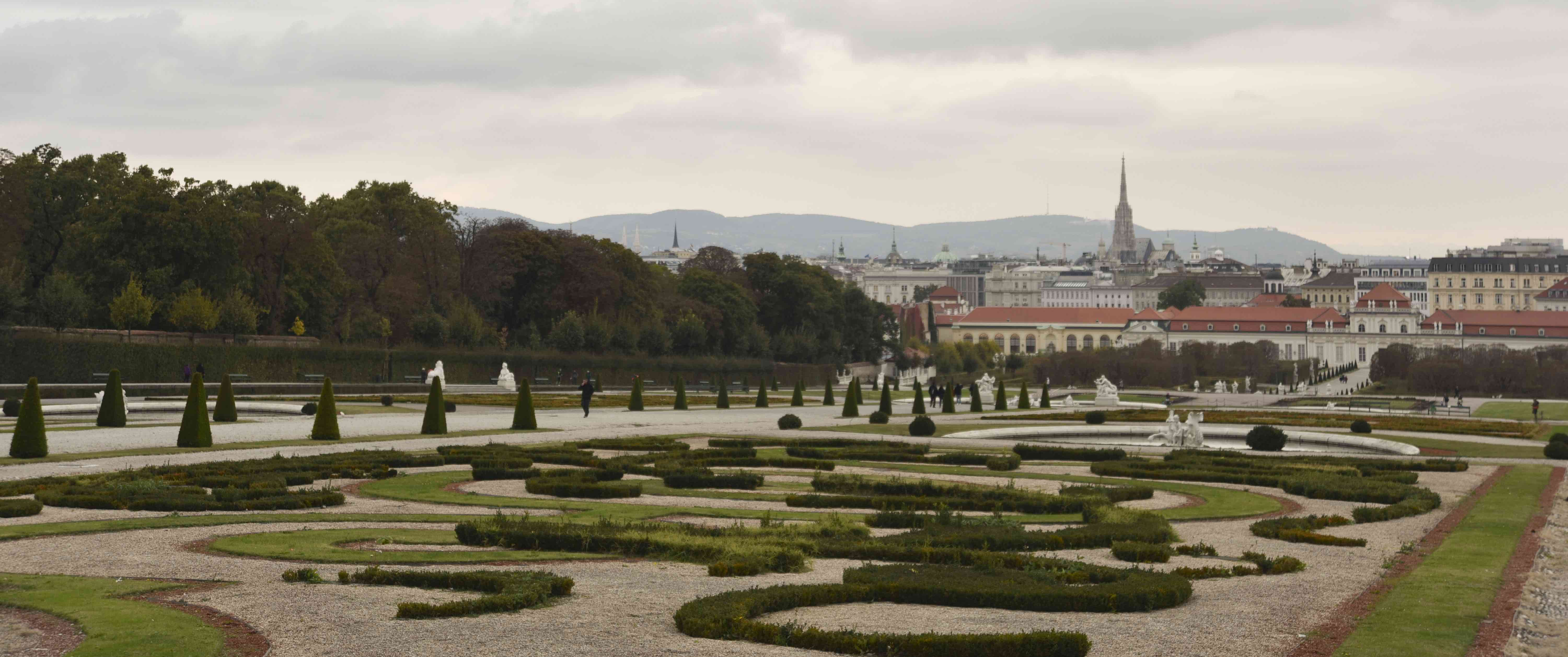 Vienna from the Belvedere